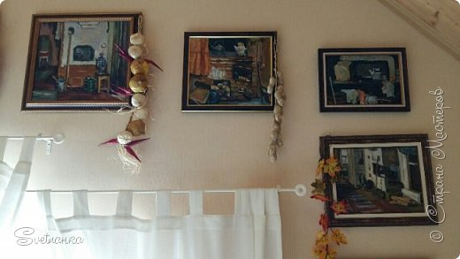 Случился бзик у меня писать печки деревенские))) 10 картин написала и успокоилась) Оригиналы искала в интернете... фото 12