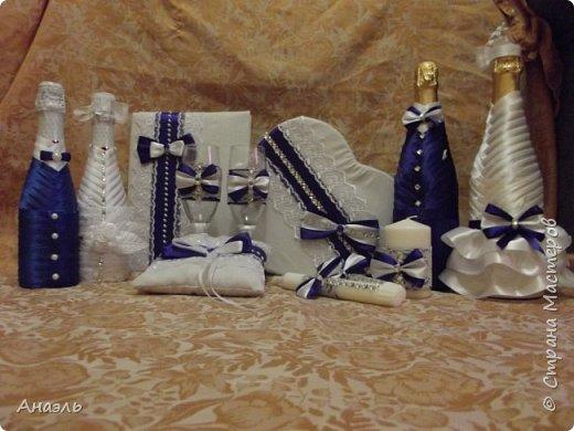 Мой первый опыт по созданию свадебного набора ! фото 1