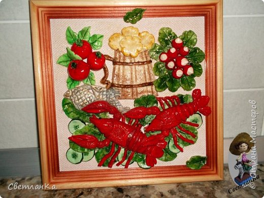 Очень люблю Новый год и Снеговиков. На глаза попалась старая открытка, и вот что получилось. Открытки уже давно нет, а картина который год меня радует.  фото 4