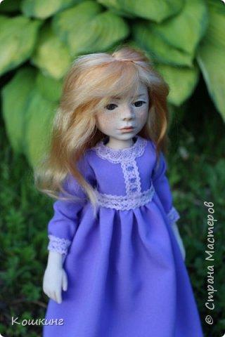 Девочка в сиреневом платье. фото 2