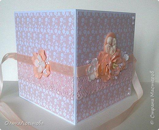 """Доброго дня всем!!!Хочу показать вам свою новую работу-конверт для диска со свадебной фотосессии,или можно использовать как открытку для поздравлений и денежного подарка/сертификата.Для основы использовала акварельную бумагу,верх-бумага для скрапбукинга  15х15 """"Чай vs Кофе"""" от Polkadot (прислали в подарок за заказ в интернет-магазине),бумажные цветы,немного дырокольностей, кружево,атласная лента,полубусины и камея с изображением молодоженов из запасов хомячка)).Внутри-акварельная бумага(кармашки) и однотонная бумага для скрапбукинга.Приглашаю вас к просмотру) фото 2"""