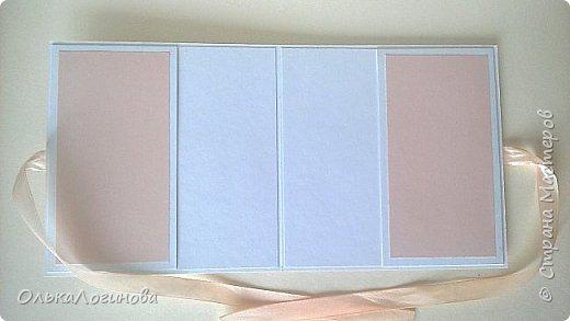 """Доброго дня всем!!!Хочу показать вам свою новую работу-конверт для диска со свадебной фотосессии,или можно использовать как открытку для поздравлений и денежного подарка/сертификата.Для основы использовала акварельную бумагу,верх-бумага для скрапбукинга  15х15 """"Чай vs Кофе"""" от Polkadot (прислали в подарок за заказ в интернет-магазине),бумажные цветы,немного дырокольностей, кружево,атласная лента,полубусины и камея с изображением молодоженов из запасов хомячка)).Внутри-акварельная бумага(кармашки) и однотонная бумага для скрапбукинга.Приглашаю вас к просмотру) фото 4"""