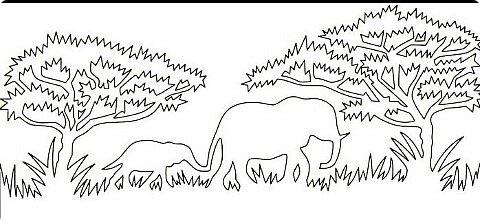 Слоны в Сафари фото 3