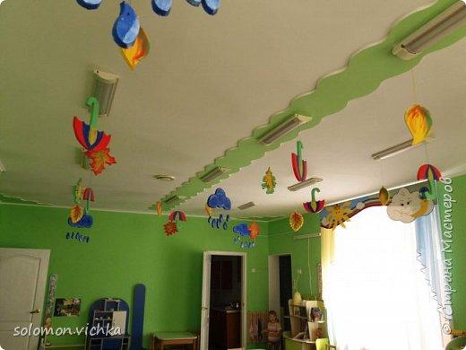 Вот так я придумала украсить группу дочери  осенью))) фото 2