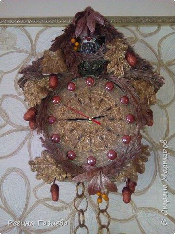 """Часы """"Лес"""" фото 1"""