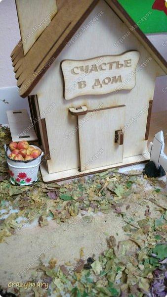 """Диорама """"Осень в деревне"""". фото 7"""