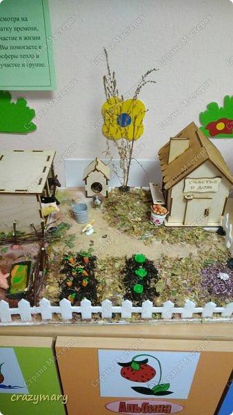"""Диорама """"Осень в деревне"""". фото 9"""