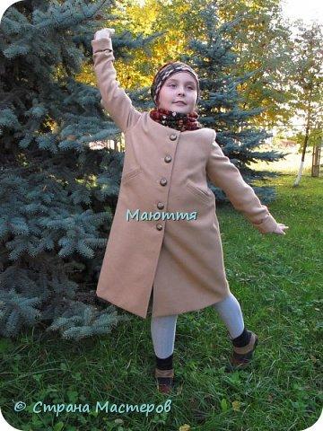 Я уже мельком показывала наше новое пальто, но решила продемонстрировать его еще раз основательно)) фото 4