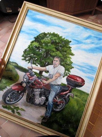 Мужской портрет. Масло+холст на подрамнике. Формат 50см*60см.   фото 10