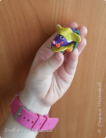 Осваиваем с первоклашками пластилин. Из шариков получились разноцветные гусенички. фото 10