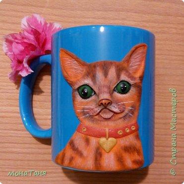 Добрый день.  Я к вам с новой чашечкой которую лепила по МК Sakuma Sweets фото 2