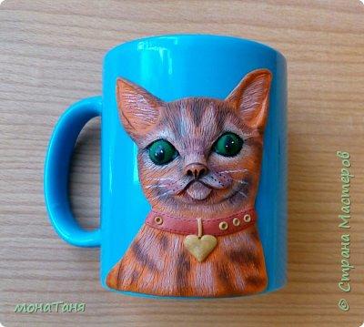 Добрый день.  Я к вам с новой чашечкой которую лепила по МК Sakuma Sweets фото 1