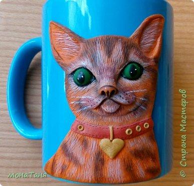 Добрый день.  Я к вам с новой чашечкой которую лепила по МК Sakuma Sweets фото 3