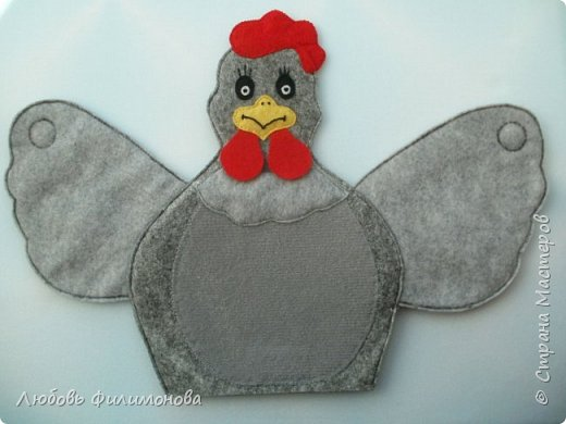 В детский сад сшила маму курочку.  Идею подсмотрела у   Натальи Мелковой, спасибо ей большое. фото 3