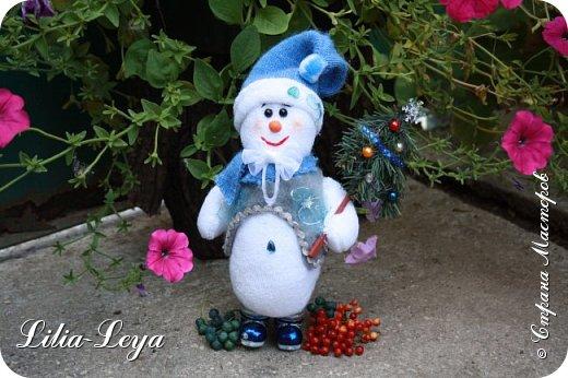 Вряд ли кто из нас особо озадачивался вопросом: где летом бывает Снеговичок?! Отпуск у него! Каникулы! Мой тоже отдохнул. К счастью, ему повезло с погодой: холод и беспрерывная вереница дождей... фото 1