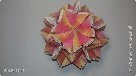 Наконец-то появилась у меня красивая бумажка)) Появились этому поводу я решила собрать несколько шариков.   Schatulle  Автор :Юния Филонова  Unit:12 Paper size :3.75×7.5 фото 4
