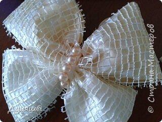 Использовала остатки той же тюли из которой сшита сама занавеска, соединительная верёвка была взята из уже непригодной бумажной сумки. Ну, а бабочка с подсолнухом деревянные ( целый набор таких бабочек уже пару лет лежит, вот одна нашла своё место)) фото 3