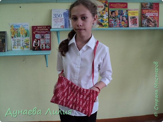 Вязаная сумочка  фото 1