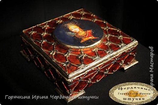 """Шкатулка """"Боярыня"""" фото 1"""