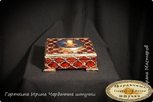 """Шкатулка """"Боярыня"""" фото 2"""