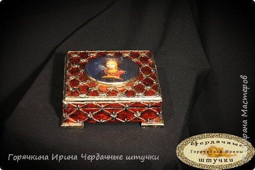 """Шкатулка """"Боярыня"""" фото 3"""