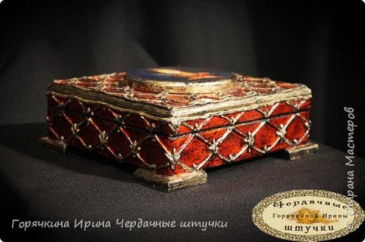 """Шкатулка """"Боярыня"""" фото 4"""