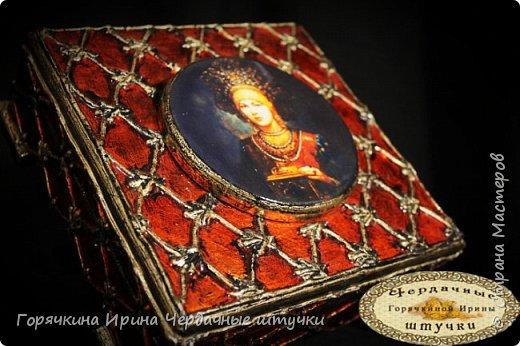 """Шкатулка """"Боярыня"""" фото 8"""