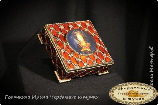 """Шкатулка """"Боярыня"""" фото 10"""
