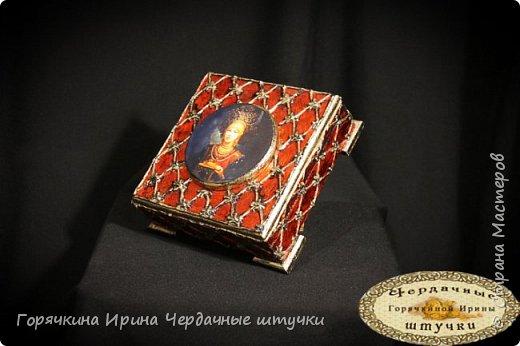 """Шкатулка """"Боярыня"""" фото 11"""