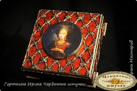 """Шкатулка """"Боярыня"""" фото 12"""