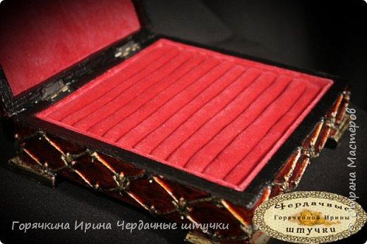"""Шкатулка """"Боярыня"""" фото 14"""