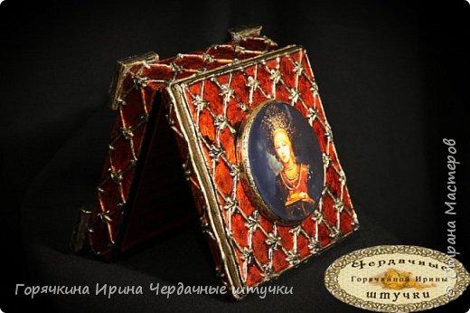 """Шкатулка """"Боярыня"""" фото 16"""