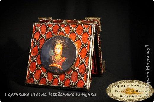 """Шкатулка """"Боярыня"""" фото 18"""