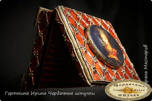 """Шкатулка """"Боярыня"""" фото 20"""