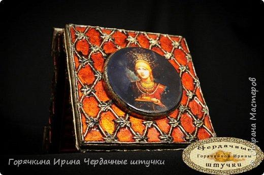 """Шкатулка """"Боярыня"""" фото 21"""