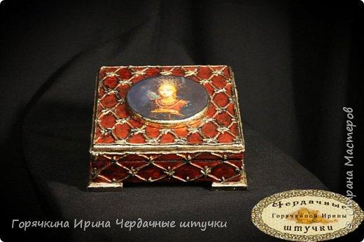 """Шкатулка """"Боярыня"""" фото 23"""