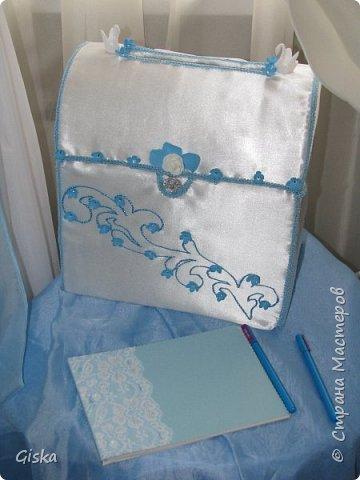 Свадебный комплект- подушечка для колец,альбом для пожеланий,и для свидетелей. фото 4