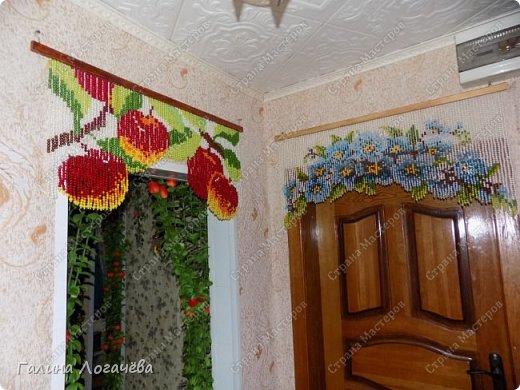 шторы из бусин фото 1