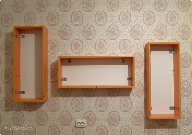"""После длительного перерыва в проектировании мебели я снова взялась за это дело. Новый мебельный проект - комплект """"Оранжевое настроение"""". Кроме непосредственно функции хранения он также обладает """"выставочной площадью"""", на которой можно менять """"экспонаты"""" по настроению. фото 7"""