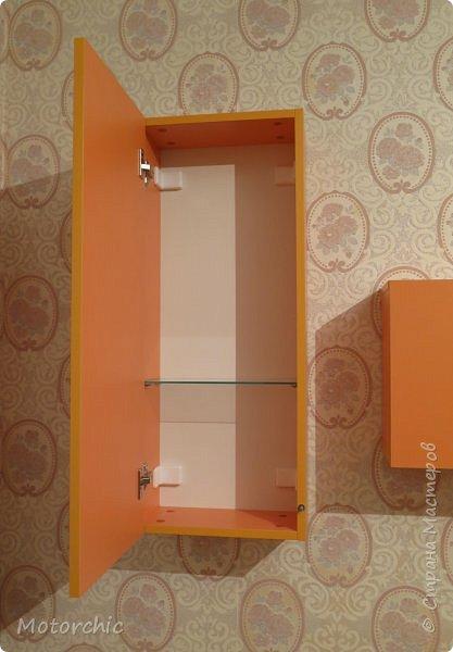 """После длительного перерыва в проектировании мебели я снова взялась за это дело. Новый мебельный проект - комплект """"Оранжевое настроение"""". Кроме непосредственно функции хранения он также обладает """"выставочной площадью"""", на которой можно менять """"экспонаты"""" по настроению. фото 9"""