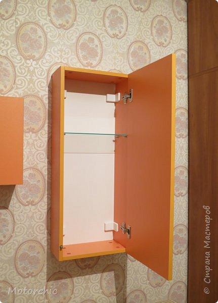 """После длительного перерыва в проектировании мебели я снова взялась за это дело. Новый мебельный проект - комплект """"Оранжевое настроение"""". Кроме непосредственно функции хранения он также обладает """"выставочной площадью"""", на которой можно менять """"экспонаты"""" по настроению. фото 11"""