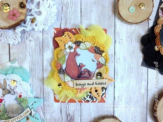 Еще раз здравствуйте))  Решила еще показать недавние карточки АТС про мам, мам-животных, таких разных, но тоже любящих своих детенышей)) эти карточки я решила оставить в запасе для обмена в блоге от дизайнеров, поэтому они все пока остаются у меня)) фото 3