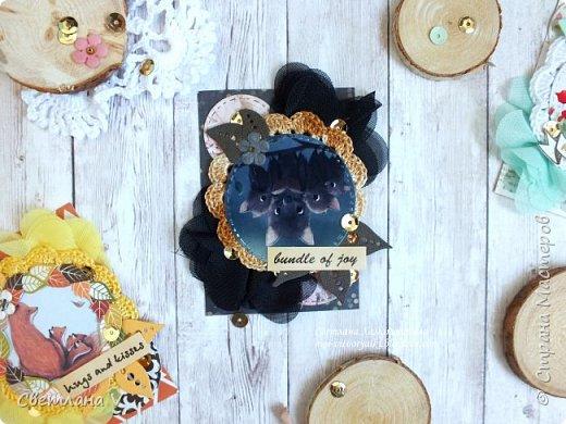 Еще раз здравствуйте))  Решила еще показать недавние карточки АТС про мам, мам-животных, таких разных, но тоже любящих своих детенышей)) эти карточки я решила оставить в запасе для обмена в блоге от дизайнеров, поэтому они все пока остаются у меня)) фото 4