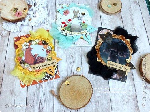 Еще раз здравствуйте))  Решила еще показать недавние карточки АТС про мам, мам-животных, таких разных, но тоже любящих своих детенышей)) эти карточки я решила оставить в запасе для обмена в блоге от дизайнеров, поэтому они все пока остаются у меня)) фото 5