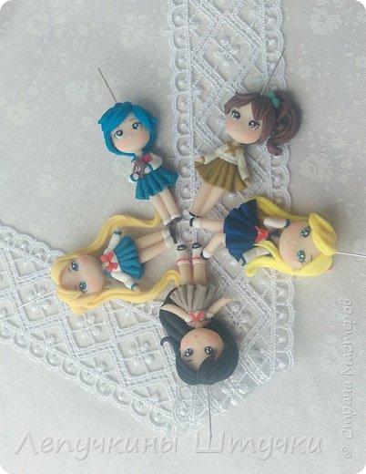 Всем приветики. Сегодня захотелось поделится с Вами маленькими девочками по известному аниме Сейлор Мун.  фото 1