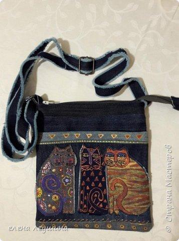 сумочка из джинса!!!