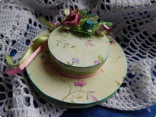 Доброго времени суток, дорогие мастера! Сегодня я с открыточками. Моя любимая форма - женская шляпка. фото 3