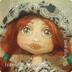 Кукла интерьерная,текстильная фото 2