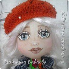 Кукла интерьерная,текстильная фото 3