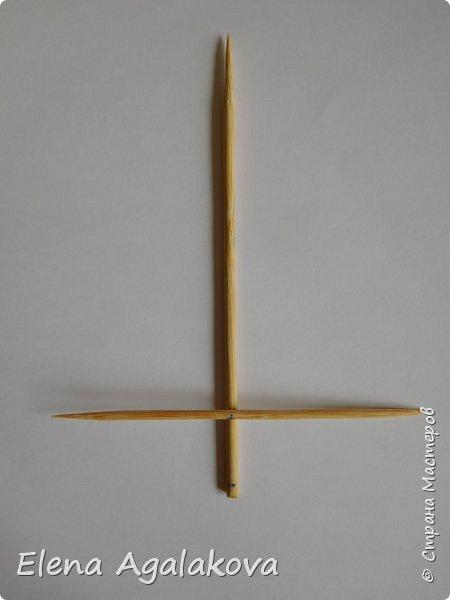 Добрый день! Сегодня я покажу как делать простую мандалу-елочку для украшения на Новый год.  У меня елочка 12 см на 9 см, но вы можете сплести ее любого размера, для малышей конечно лучше размер побольше. фото 4